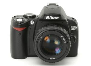 Nikon D40X Manual (camera front side)