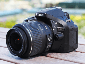 Nikon D5200 Manual (camera body with lens)