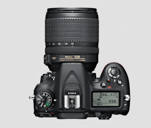 Nikon D7100 Manual (Top View of Nikon D7100)