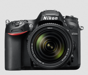 Nikon D7200 Manual (camera view from the back)