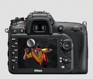 Nikon D7200 Manual (camera backside)