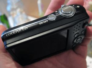 Nikon L25 Manual - Camera side