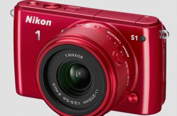 Nikon S1 Manual - camera front side