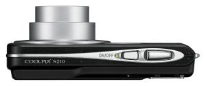 Nikon S210 Manual - Camera side