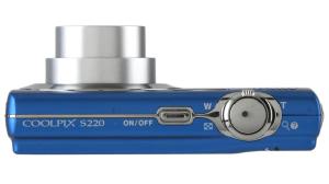Nikon S220 Manual - Camera Side