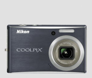 Nikon S610 Manual - front side