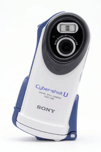 Sony DSC-U60 Manual - Camera front side