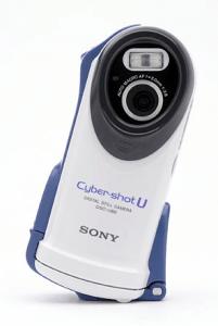 Sony DSC-U60 Manual - Camera front side