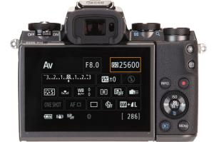 Canon EOS M5 Review - Camera Screen