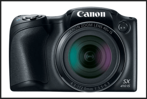 Canon PowerShot SX410 IS Manual - camera front face