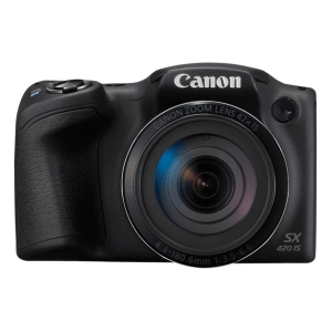 Canon PowerShot SX420 IS Manual - camera front face