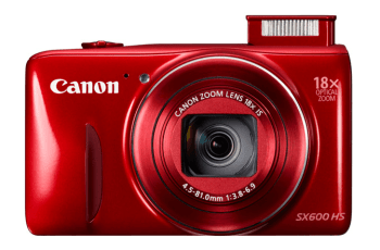 Canon PowerShot SX600 HS Manual - camera front face