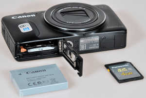 Canon PowerShot SX600 HS Manual - camera sides