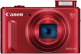 Canon PowerShot SX610 HS Manual User Guide and Detail Specification