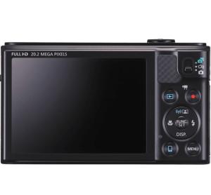 Canon PowerShot SX610 HS Manual - camera back side