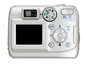 Nikon CoolPix 4100 Manual - camera back side