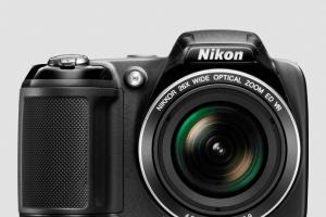 Nikon CoolPix L320 Manual - camera front face