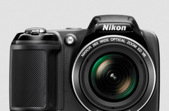 Nikon CoolPix L320 Manual - camera front face
