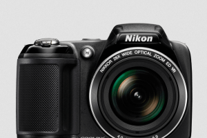 Nikon CoolPix L330 Manual - camera front face