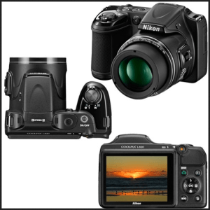 Nikon CoolPix L820 Manual - camera look