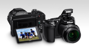 Nikon CoolPix L840 Manual - camera front and back side
