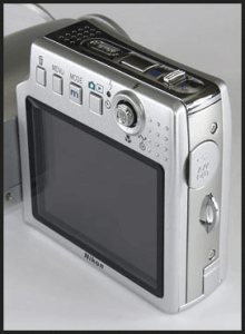 Nikon CoolPix S10 Manual - camera screen