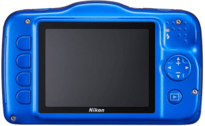 Nikon CoolPix S32 Manual - camera backside