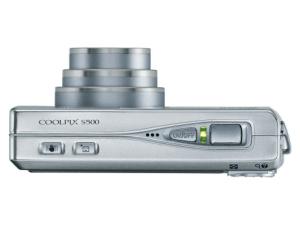 Nikon CoolPix S500 Manual - camera side