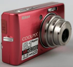 Nikon CoolPix S510 Manual - camera front