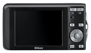 Nikon CoolPix S520 Manual - camera back side