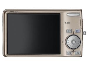 Nikon CoolPix S600 Manual - camera back side
