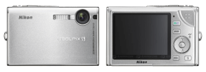 Nikon CoolPix S9 Manual - camera front and back side