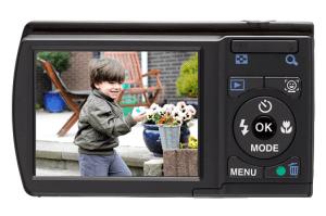 Pentax Optio E80 Manual - camera back side