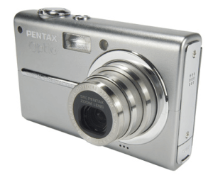 Pentax Optio T20 Manual - camera front face