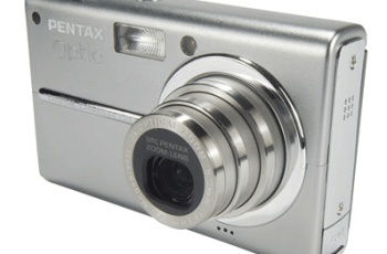 Pentax Optio T20 Manual - camera front face