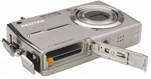 Pentax Optio T30 Manual-camera battery port
