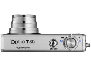 Pentax Optio T30 Manual-camera side