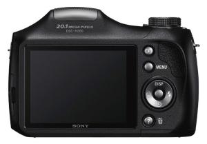 Sony Cyber-Shot DSC-H200 Manual - camera back side