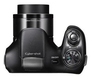 Sony Cyber-Shot DSC-H200 Manual - camera up side