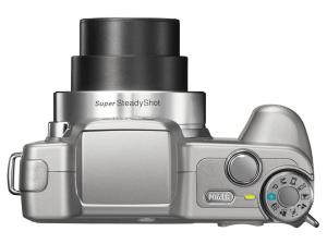 Sony Cyber-Shot DSC-H3 Manual - camera side