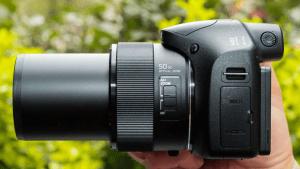 Sony Cyber-Shot DSC-H300 Manual - camera side