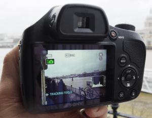 Sony Cyber-Shot DSC-H400 Manual - camera back side