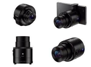 Sony Cyber-Shot DSC-QX100 Manual - attachable lens camera