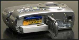 Nikon CoolPix P3 Manual - camera side