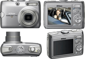 Nikon CoolPix P4 Manual - camera sides