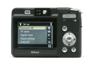 Nikon CoolPix P50 Manual - camera back side