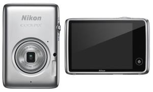 Nikon CoolPix S02 Manual-camera front and back side
