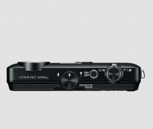 Nikon CoolPix S1200pj Manual - camera side
