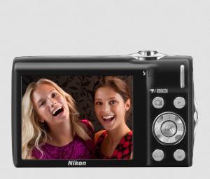 Nikon CoolPix S3000 Manual - camera back side
