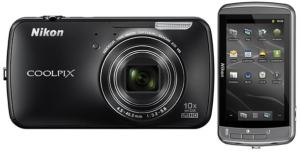 Nikon CoolPix S800c Manual-camera front and back sides